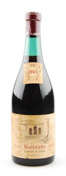 Wein 1963 Bairrada Caves S. Joao