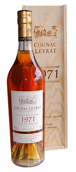 Cognac 1971 Leyrat Single Estate