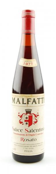 Wein 1977 Salice Salentino Rosato Baroni Malfatti