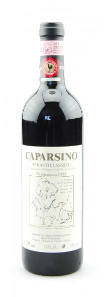 Wein 1995 Chianti Classico Caparsino