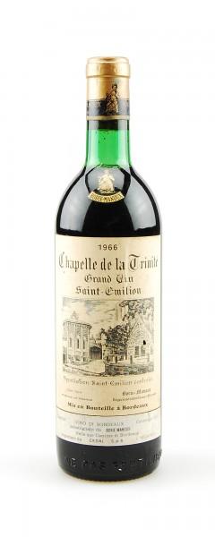 Wein 1966 Chapelle de la Trinite Saint-Emilion