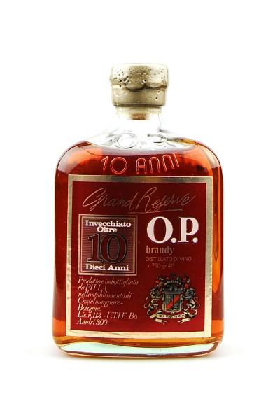 Brandy 1974 Oro Pilla Grand Reserve Invecchiato 10 Anni