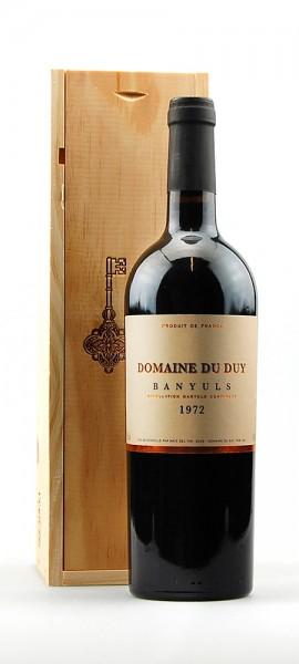 Wein 1972 Banyuls Domaine du Duy