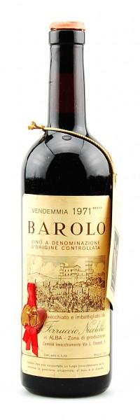 Wein 1971 Barolo Ferruccio Nicolello
