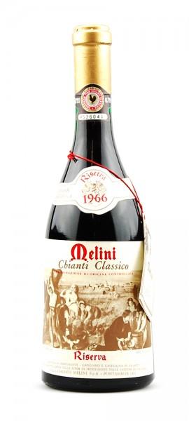 Wein 1966 Chianti Classico Melini Riserva
