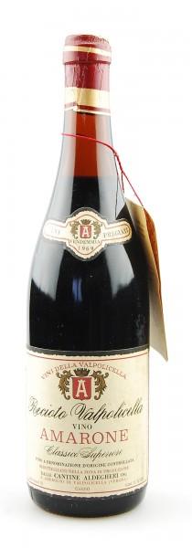 Wein 1969 Amarone della Valpolicella Aldegheri