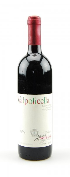 Wein 1992 Valpolicella Classico Superiore Castellani