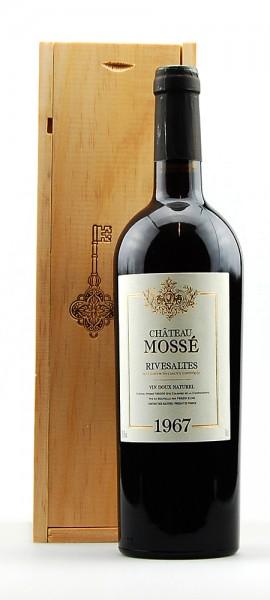 Wein 1967 Rivesaltes Chateau Mossé
