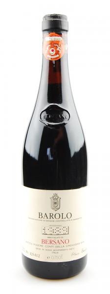Wein 1989 Barolo Bersano Cremosina