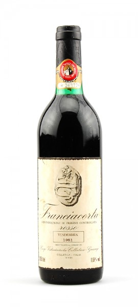 Wein 1981 Franciacorta Rosso Cellatica Gussago