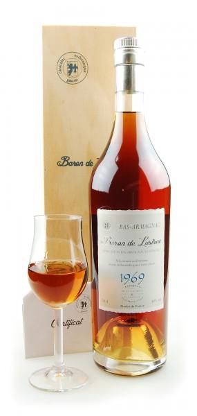 Armagnac 1969 Bas-Armagnac Baron de Lustrac 0,7l