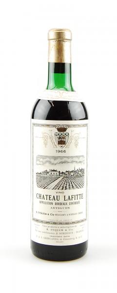 Wein 1966 Chateau Lafitte Appelation Bordeaux