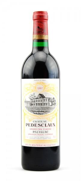 Wein 1987 Chateau Pedesclaux 5eme Grand Cru Classe