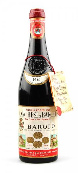 Wein 1961 Barolo Marchesi di Barolo
