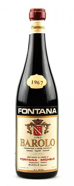 Wein 1967 Barolo Michele Fontana