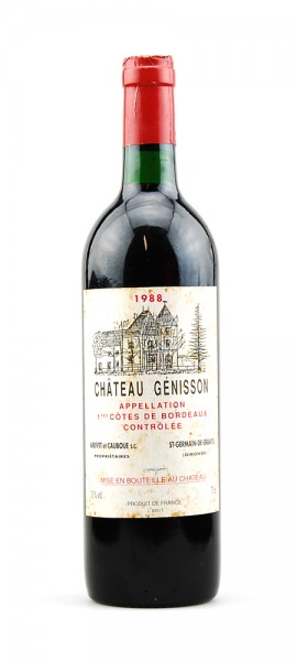 Wein 1988 Chateau Génisson