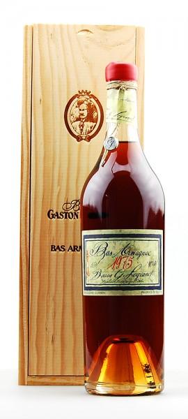 Armagnac 1975 Bas-Armagnac Baron Gaston Legrand