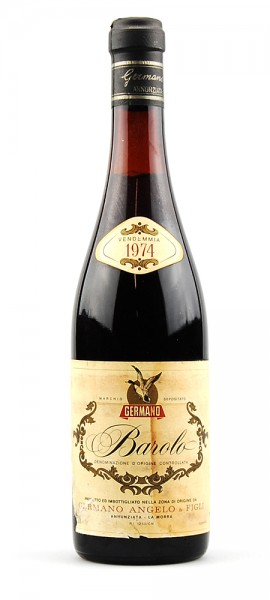 Wein 1974 Barolo Germano