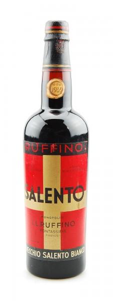 Wein 1939 Salento Ruffino Vecchio Bianco