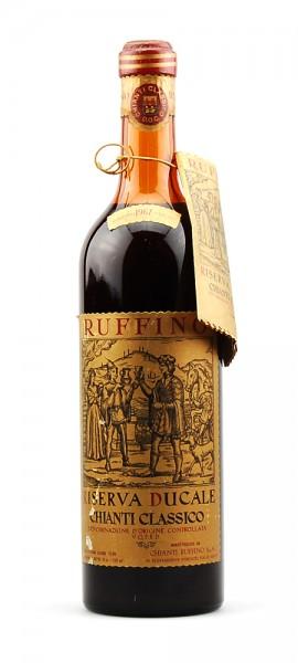 Wein 1967 Chianti Classico Riserva Ducale Ruffino