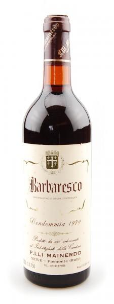 Wein 1979 Barbaresco Azienda Vitivinicola Mainerdo