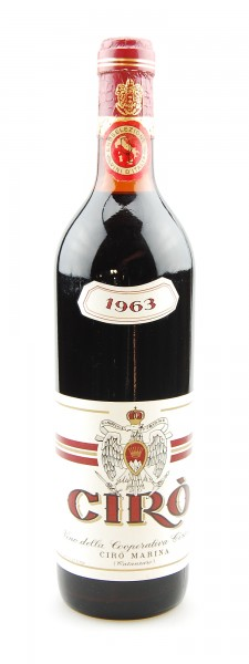 Wein 1963 Ciro Rosso Marina