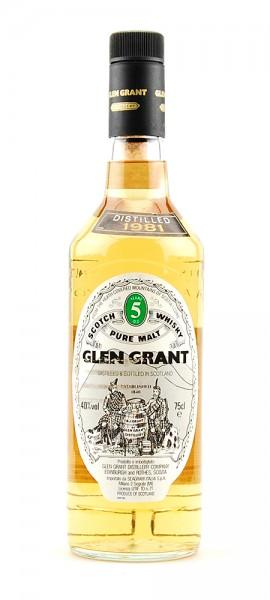 Whisky 1981 Glen Grant Highland Malt 5 years old