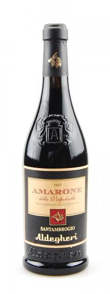 Wein 1997 Amarone della Valpolicella Aldegheri