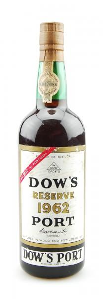Portwein 1962 Dows Reserve Port