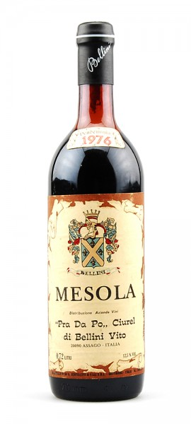 Wein 1976 Mesola Pra Da Po Bellini