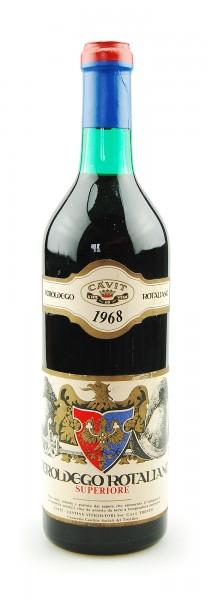 Wein 1968 Teroldego Rotaliano Superiore Cavit