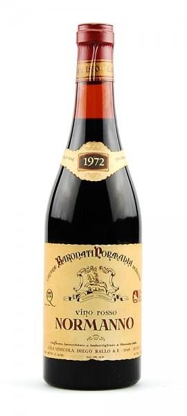 Wein 1972 Normanno Baronati Pormanni di Sicilia