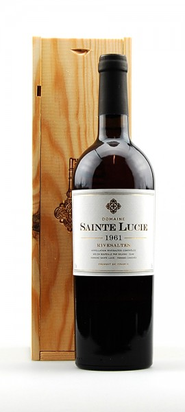 Wein 1961 Rivesaltes Domaine Sainte Lucie