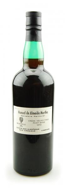 Portwein 1972 Manuel de Almeida Martha