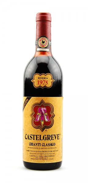 Wein 1975 Chianti Classico Castelgreve Riserva