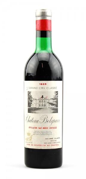 Wein 1969 Chateau Belgrave 5eme Grand Cru Classe Haut-Medoc