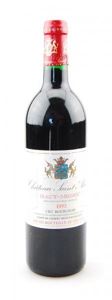 Wein 1993 Chateau Saint Ahon Cru Bourgeois