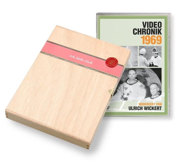 DVD 1969 Chronik Deutsche Wochenschau in Holzkiste