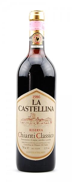 Wein 1986 Chianti Classico La Castellina Riserva