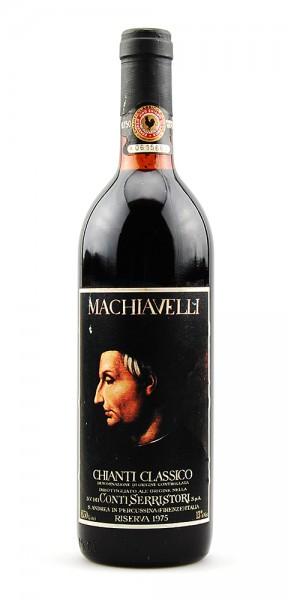 Wein 1975 Chianti Classico Serristori Riserva