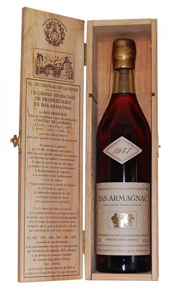 Armagnac 1937 Bas-Armagnac Chateau de Laubade