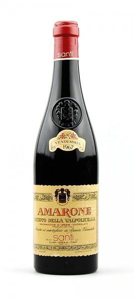 Wein 1967 Amarone Recioto della Valpolicella Santi