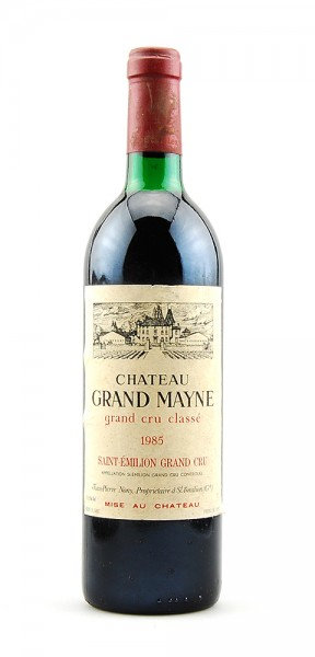 Wein 1985 Chateau Grand Mayne Grand Cru Classe