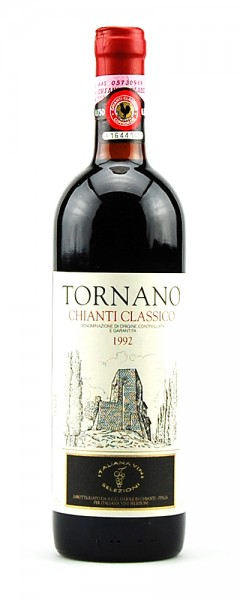 Wein 1992 Chianti Classico Tornano