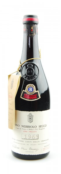 Wein 1965 Nebbiolo Riserva Speciale Cremosina Bersano