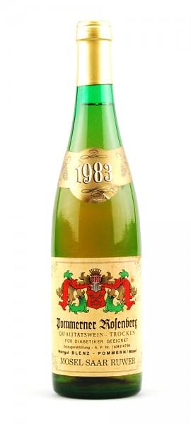 Wein 1983 Pommerner Rosenberg