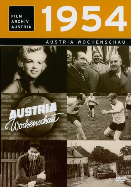 DVD 1954 Chronik Austria Wochenschau in Holzkiste