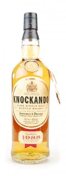 Whisky 1988 Knockando Pure Single Malt Scotch Whisky