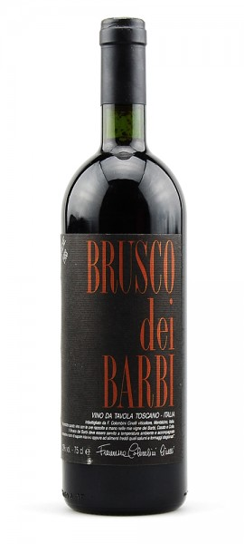 Wein 1988 Brusco dei Barbi Cinelli Colombini