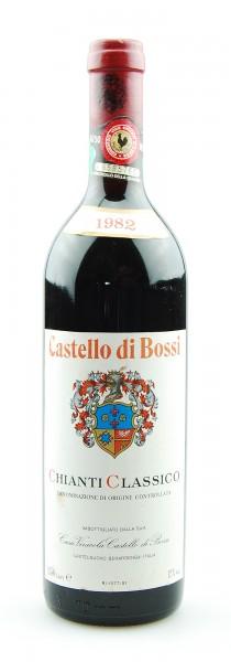 Wein 1982 Chianti Classico Castello di Bossi
